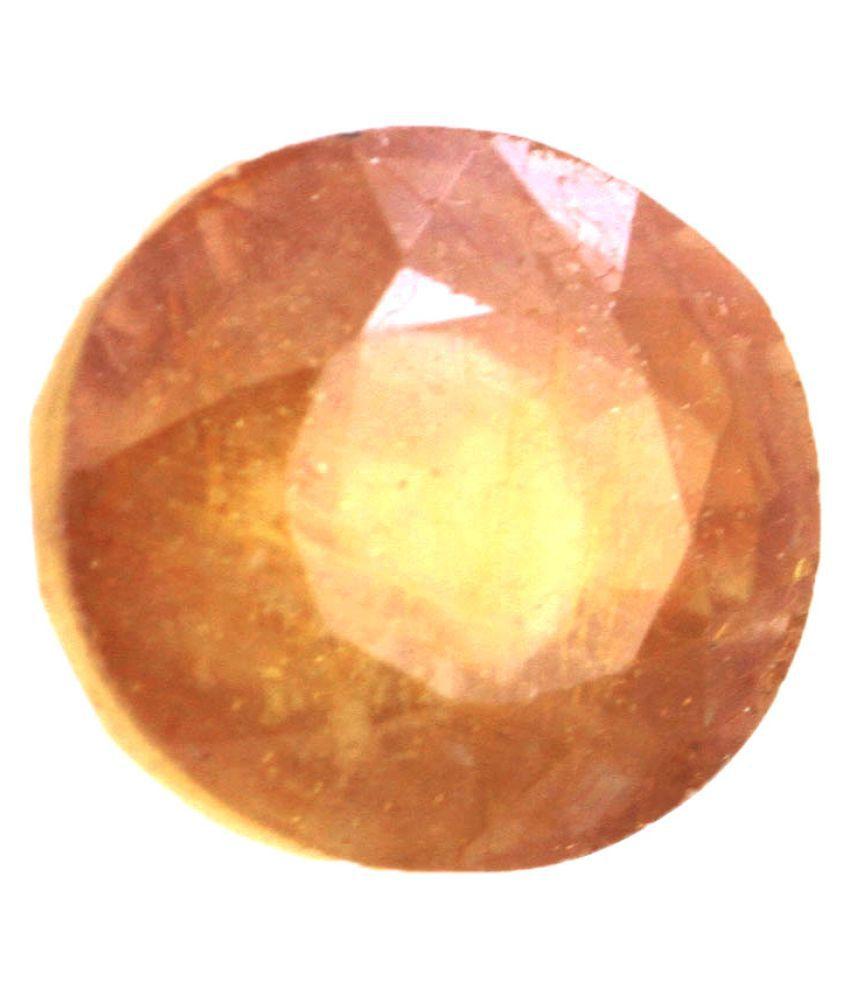 4.25 Ratti Natural Certified Yellow Sapphire Gemstone
