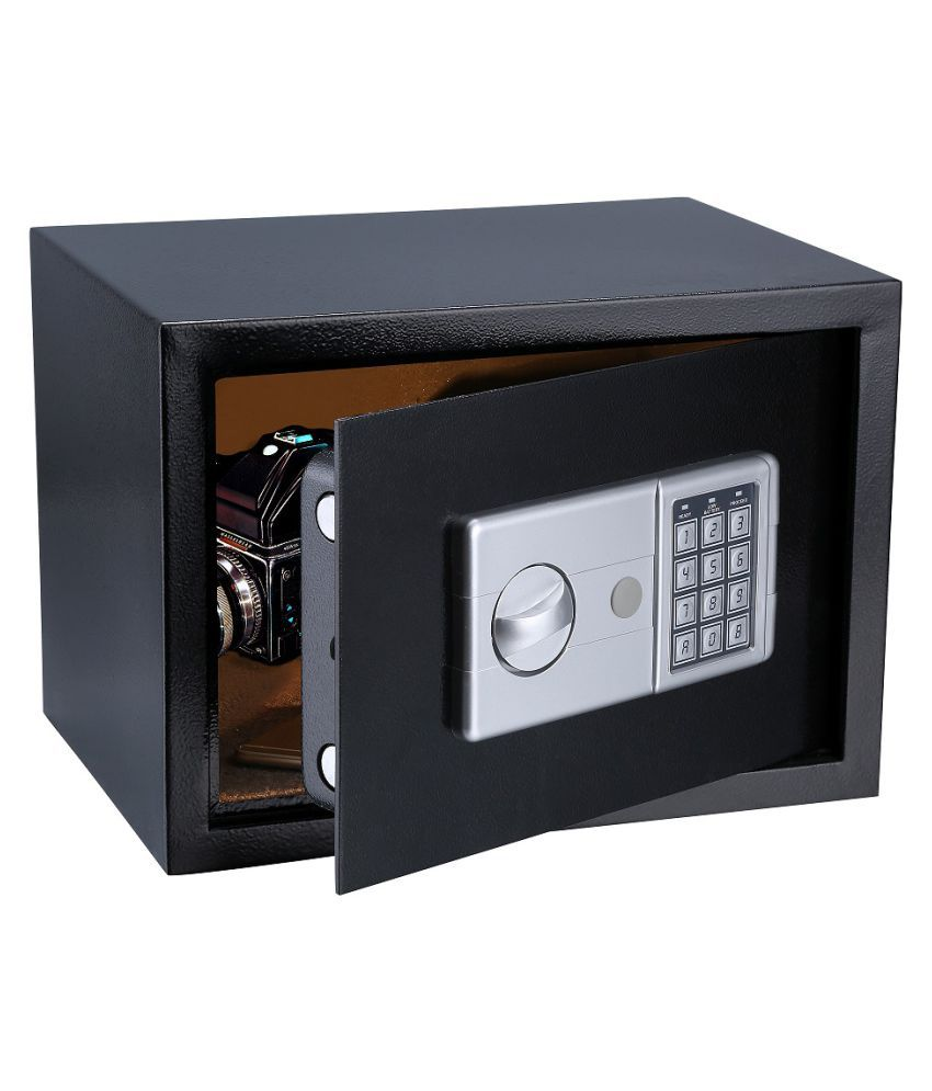 Digital Safe Locker/ Safe Box For Home & Office Purpose with Key and Password Security(H25*W35*D25)cm