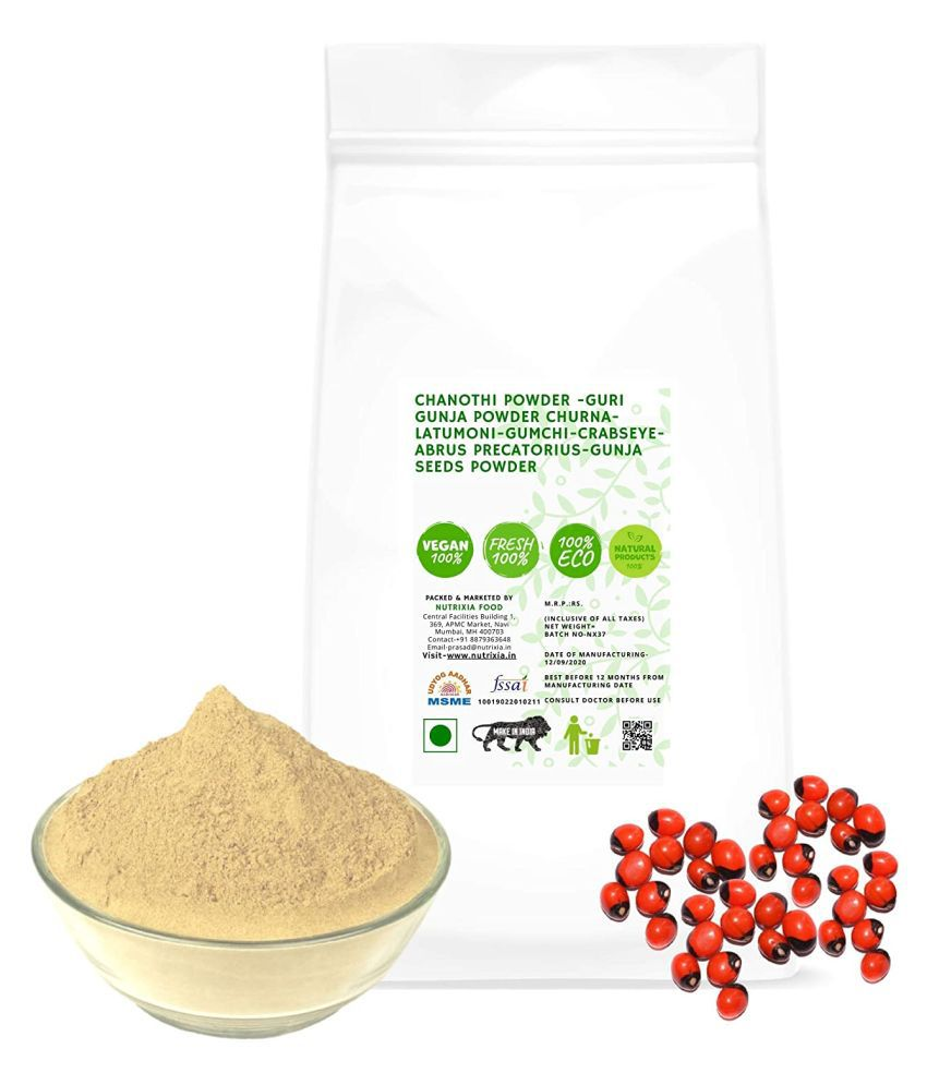 Nutrixia Food Chanothi Powder -Gunja Seeds Powder  Powder 950 gm Pack Of 1