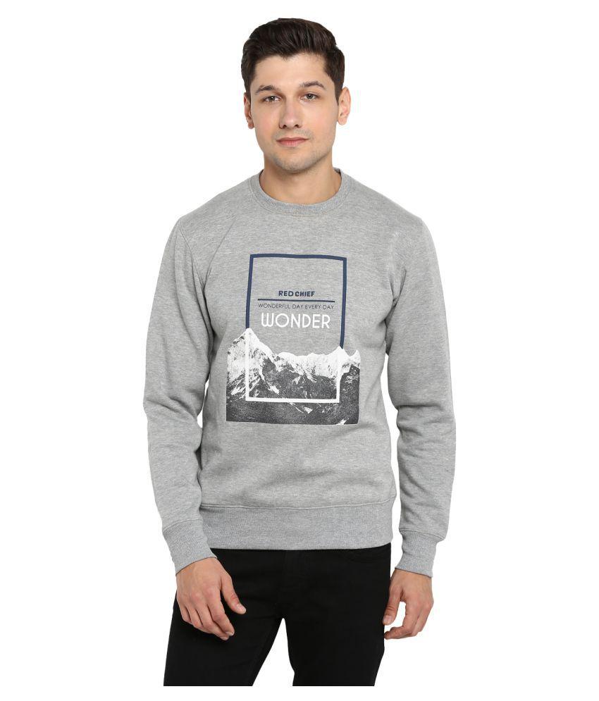 Red Chief Grey Sweatshirt