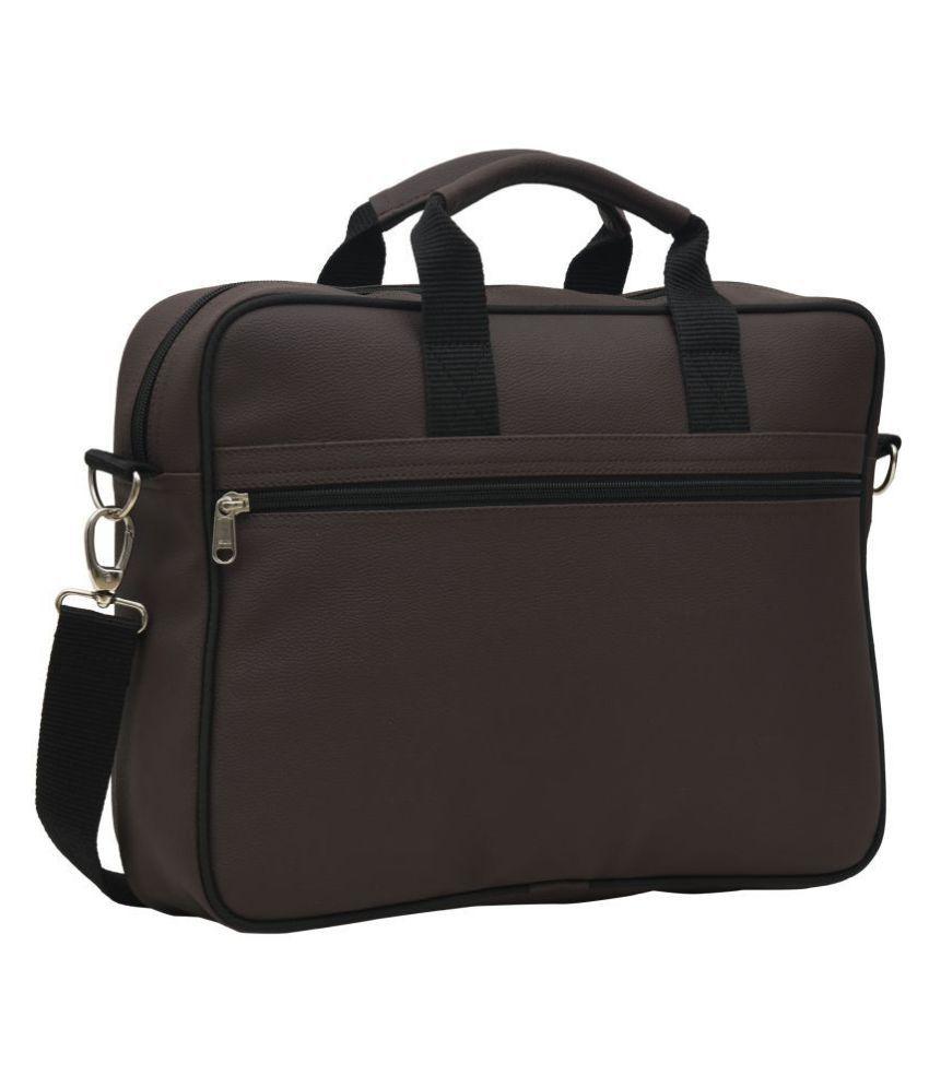 AQUADOR 1463 Brown P.U. Office Bag
