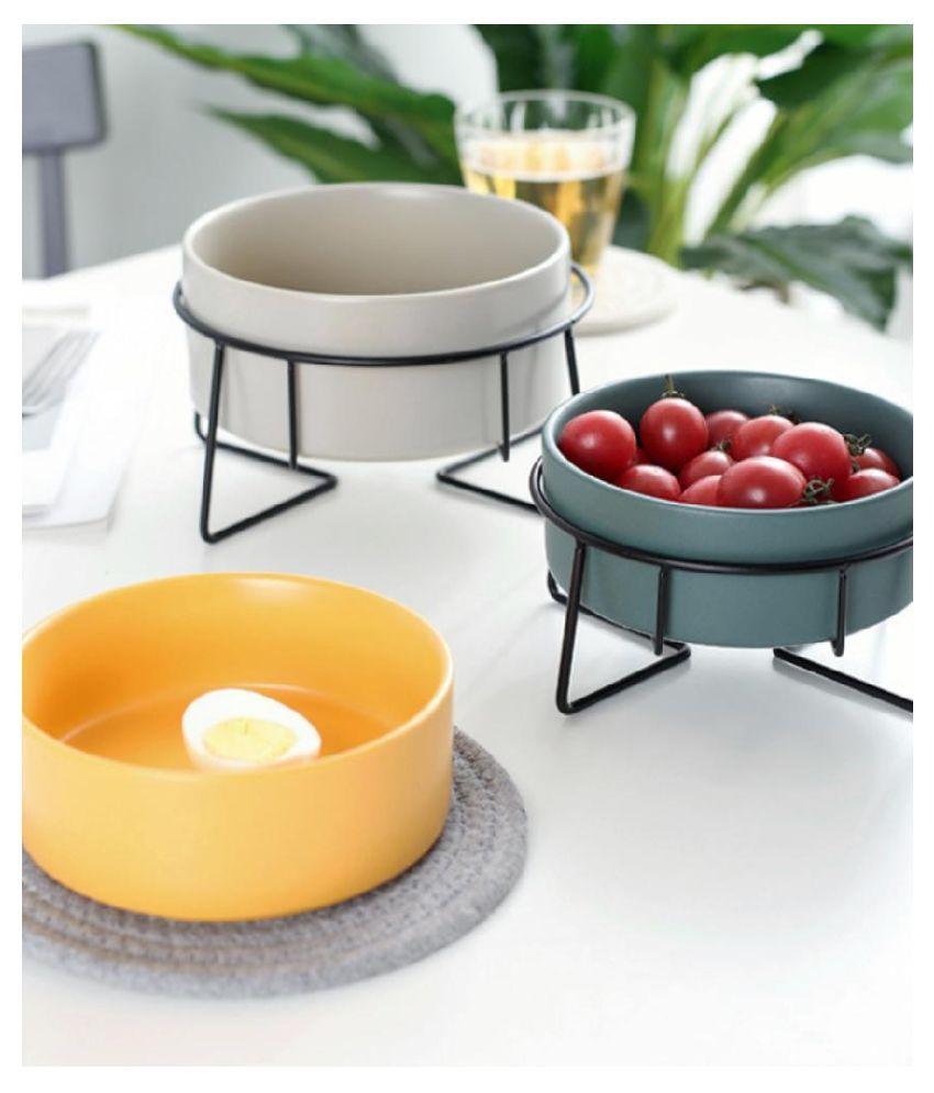 HG HAWA 1 Pcs Ceramic Pudding Bowl 500 mL