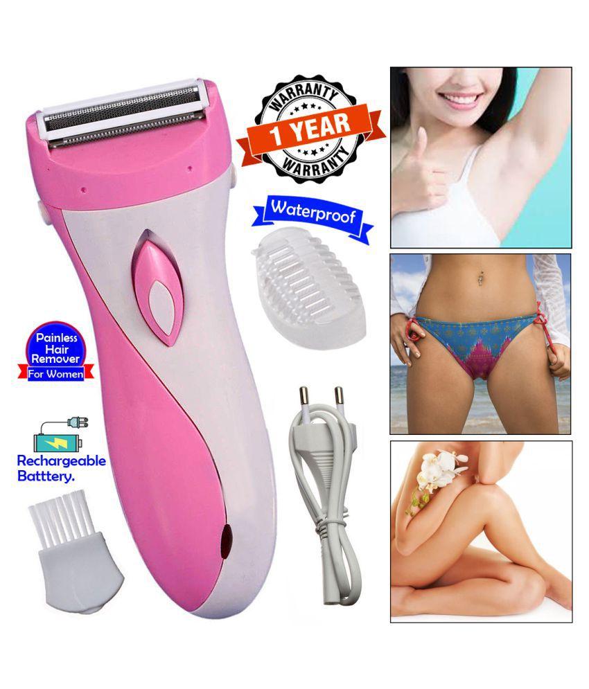 BMI 2in1 Women Lady Rechargable Waterproof Hair Trimmer Epilators Foil Shaver Multi Casual Fashion Comb