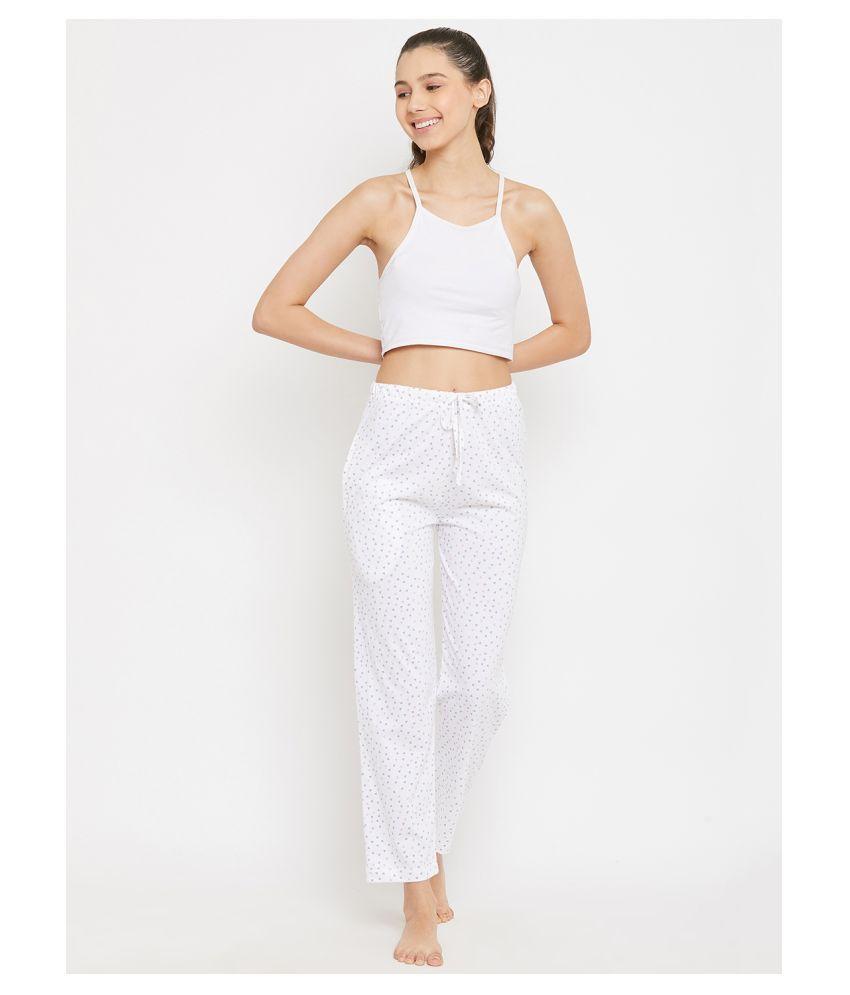 C9 Airwear Cotton Pajamas - White