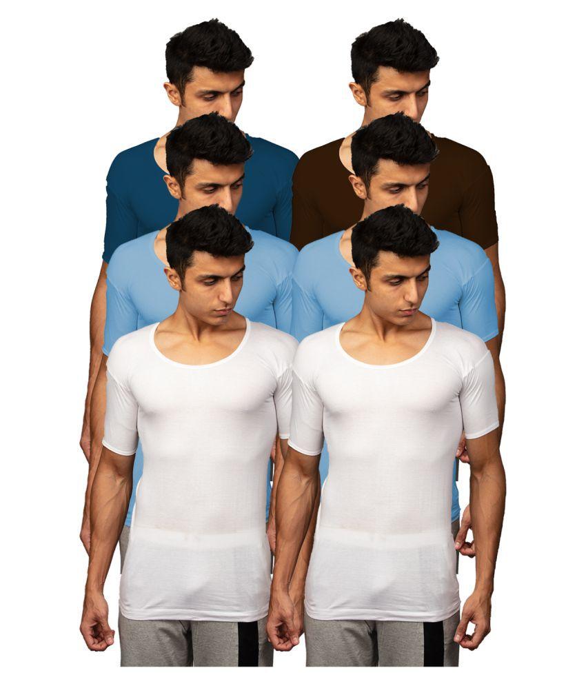 Rupa Multi Half Sleeve Vests