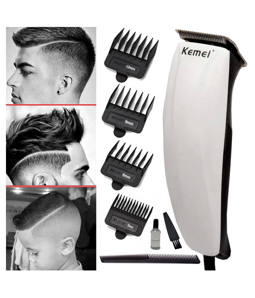 WP Professional Corded High Power Washable Beard Mustache Trimmer 9W Hair Clippe Multi Casual Fashion Comb