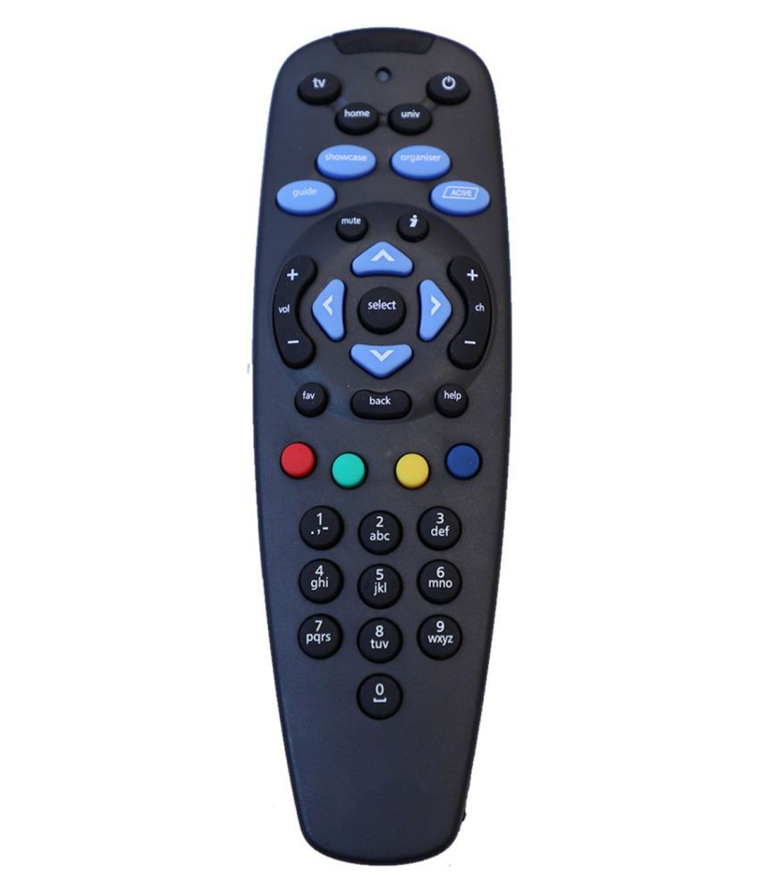 Upix (Without Recording) DTH Remote Compatible with Tata Sky DTH