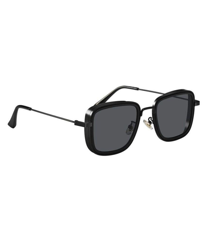 Arizona Sunglasses - Black Square Sunglasses (Kabir singh)