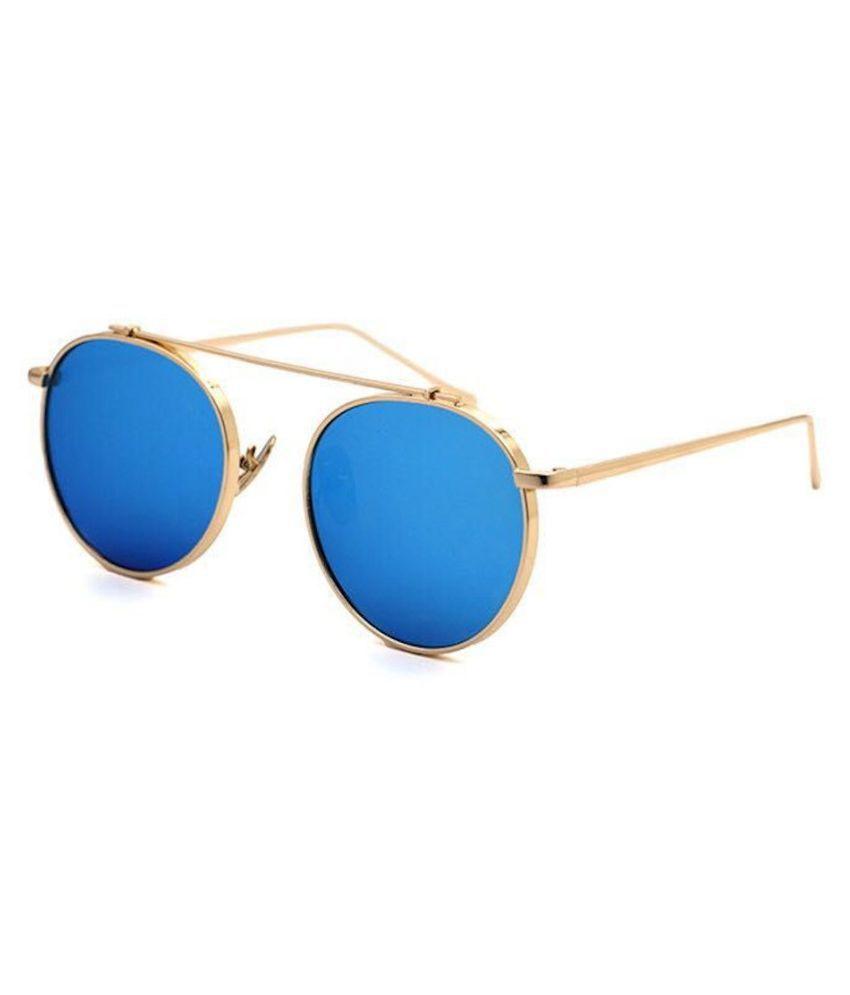 Arizona Sunglasses - Blue Round Sunglasses ( Allu arjun sunglass)