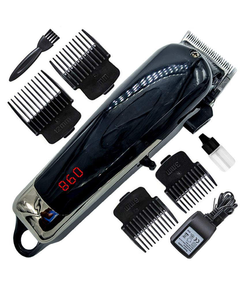 DBM USB Charging 0 Trim Beard Mustache Trimmer Hair Clipper Razor 0mm to 12mm Combo