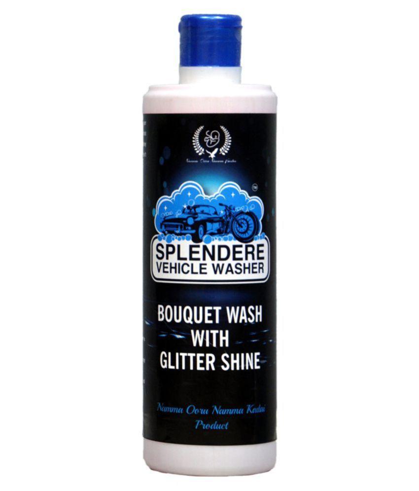Splendere Vehicle Washer - Additive concentrated Car & Bike wash Foaming Shampoo – 500ml