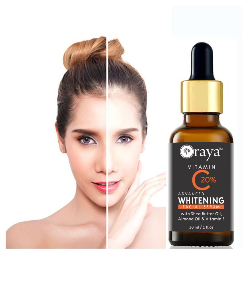 ORAYA Vitamin C 20% Serum- Facial Serum For Skin Whitening Face Serum 30 mL