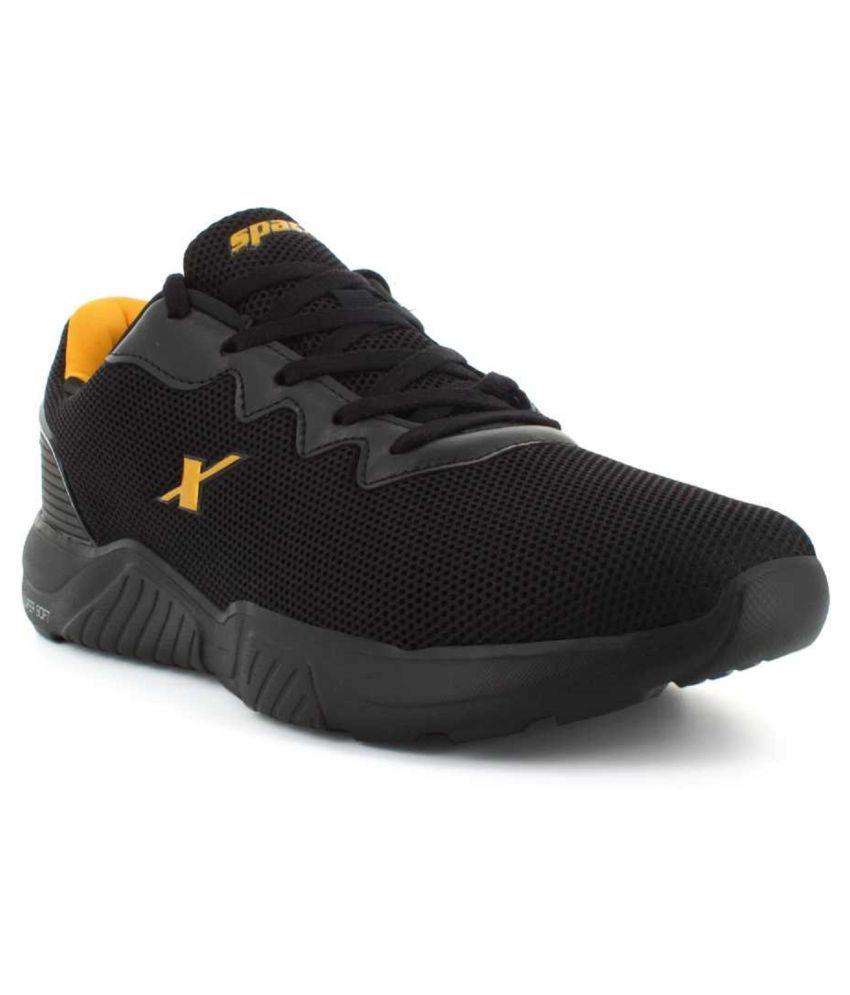 Sparx Men SM 648 Black Running Shoes