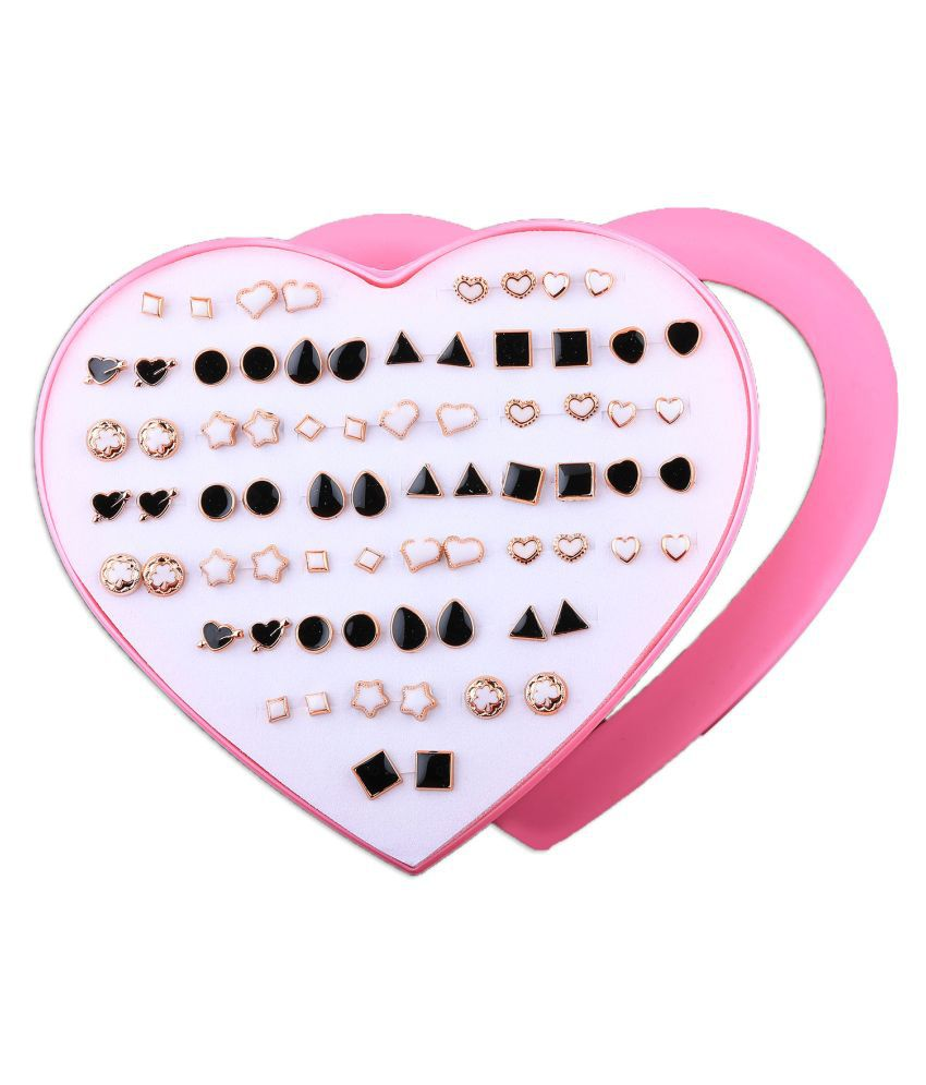 Paola Stud Earring  Delicate look Stud Earring Set of 36  for Women And Girl.
