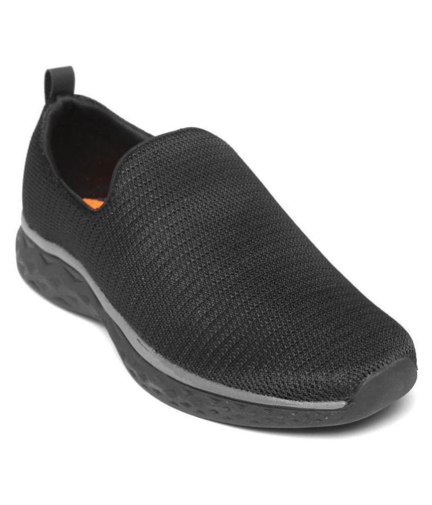 YUUKI OTTAWA Black Running Shoes