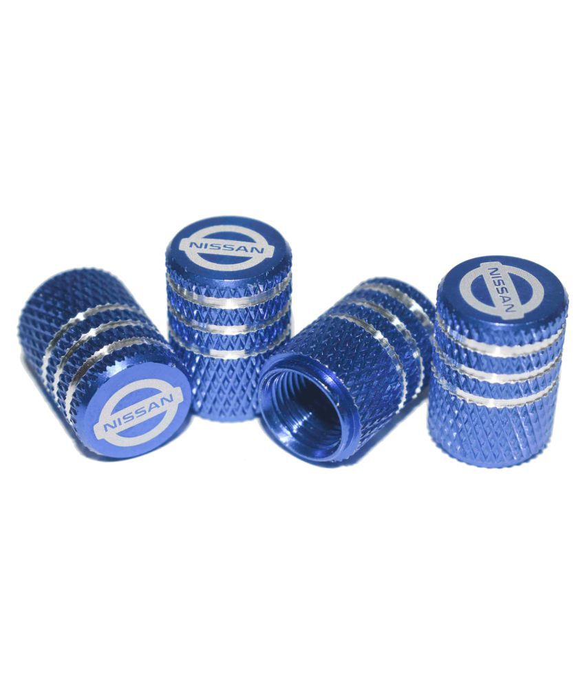 INCOGNITO Tyre Valve Caps Nissan Set of 4