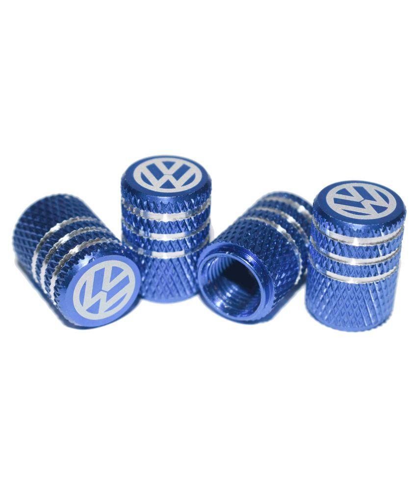 INCOGNITO Tyre Valve Caps Volkswagen Set of 4