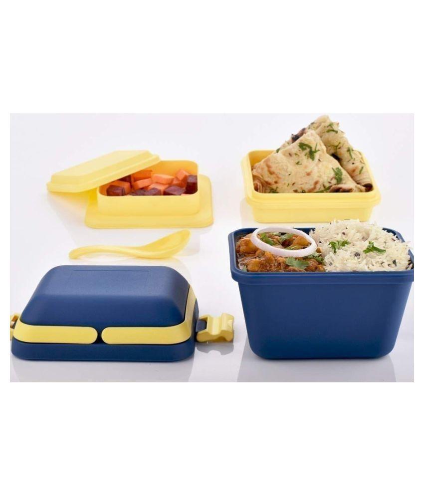 Ved Enterprises Multicolour PVC Lunch Box