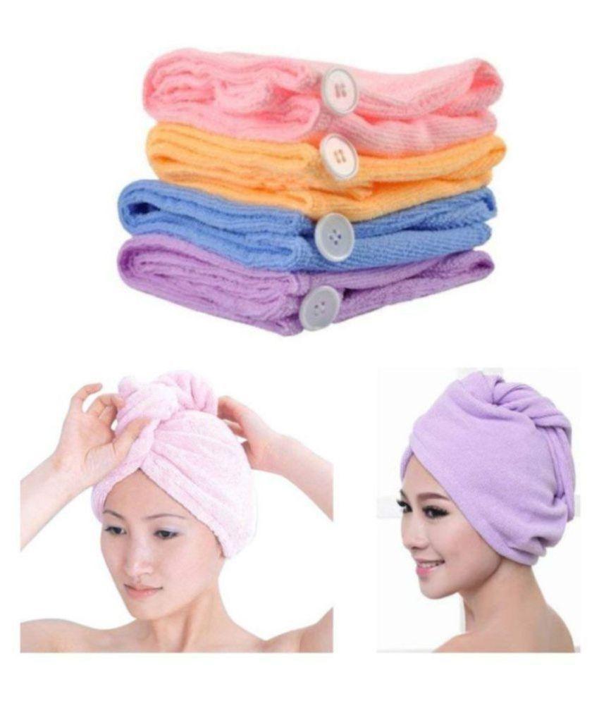 SUMTINATH CREATION HAIR WRAP TOWEL Single Microfibre hair wrap towel