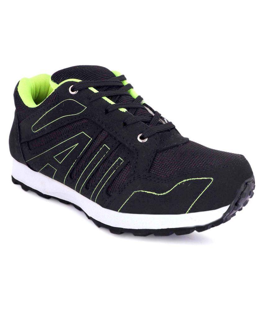 zorik Black Running Shoes