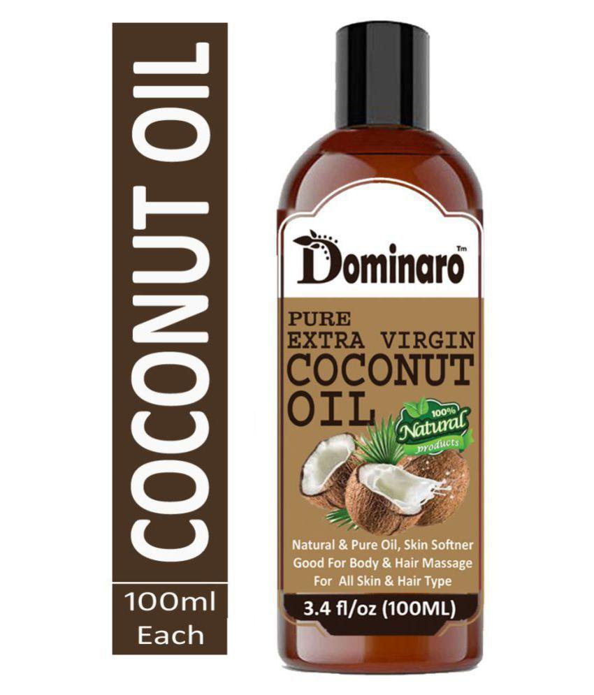 Dominaro Premium Extra Virgin Coconut Oil - 100% Pure & Natural 100 mL