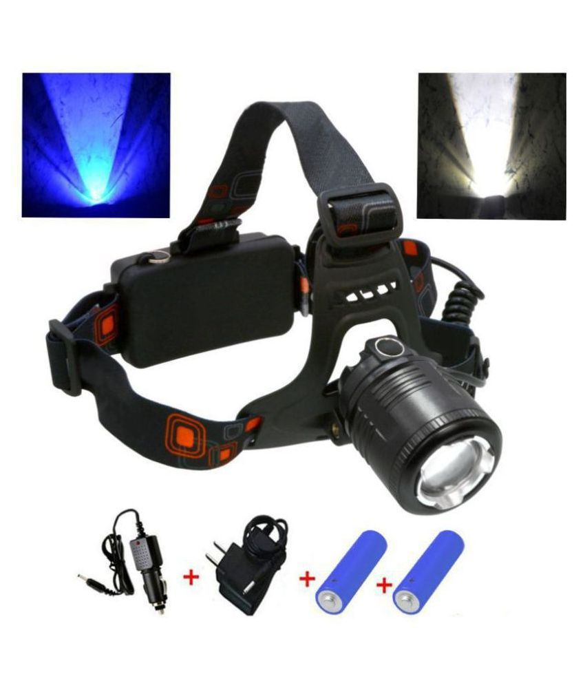 Rechargeable Zoomable Cree Led Headlamp Head Lamp Light Torch Flashlight