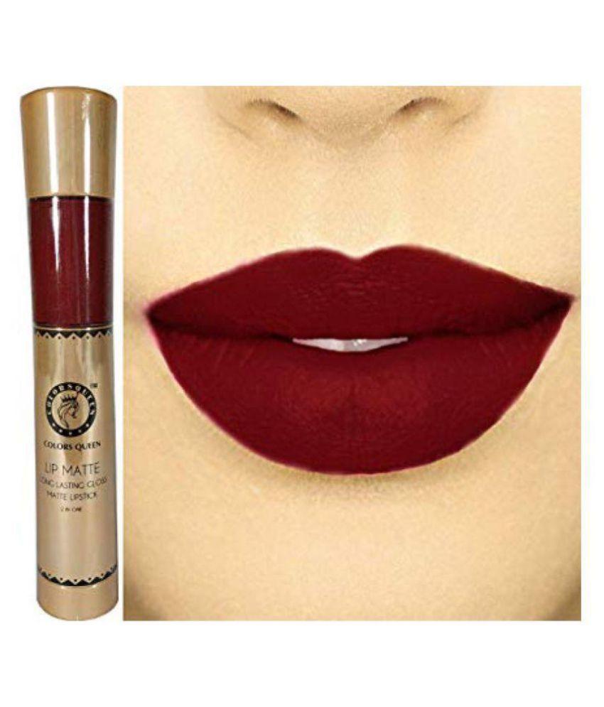 Colors Queen Lip Gloss Liquid MAROON Multi 15 mL