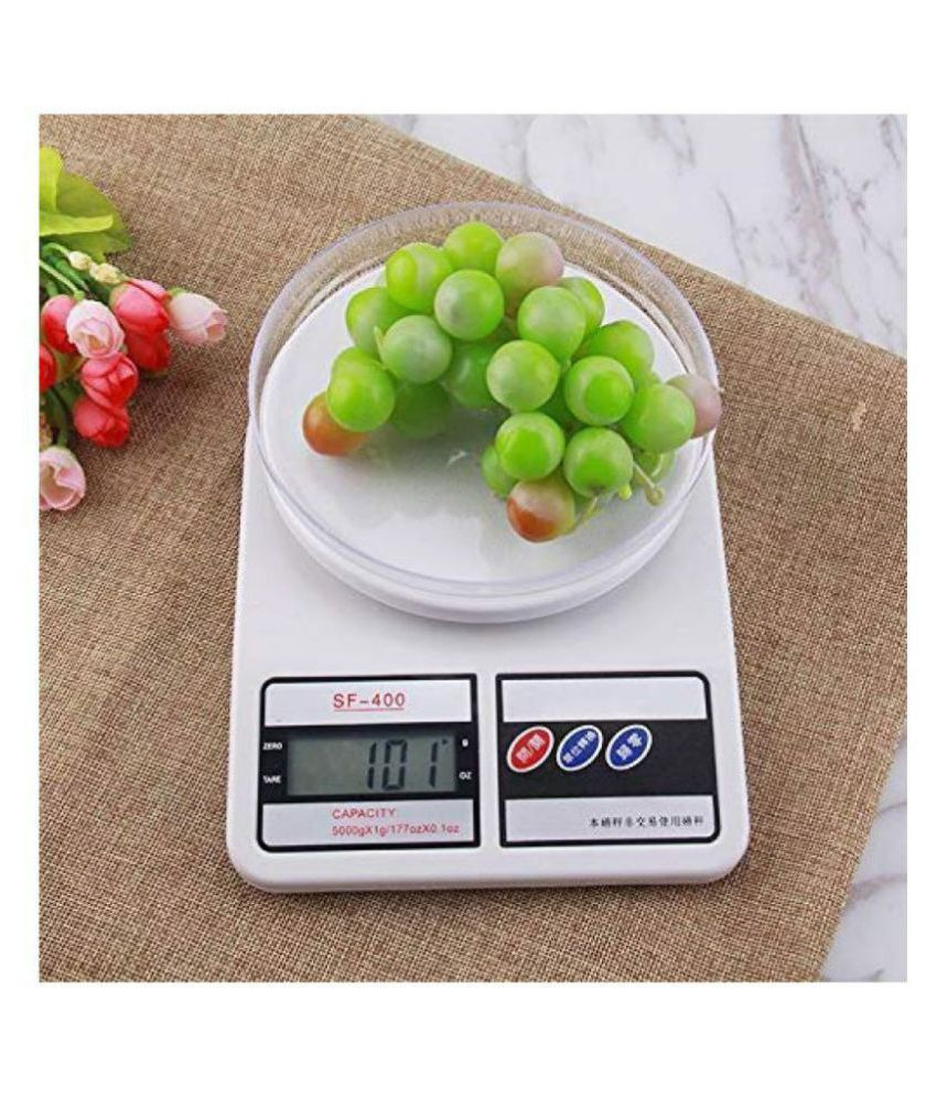 SRISH Digital Kitchen Weighing Scales Weighing Capacity - 10 Kg