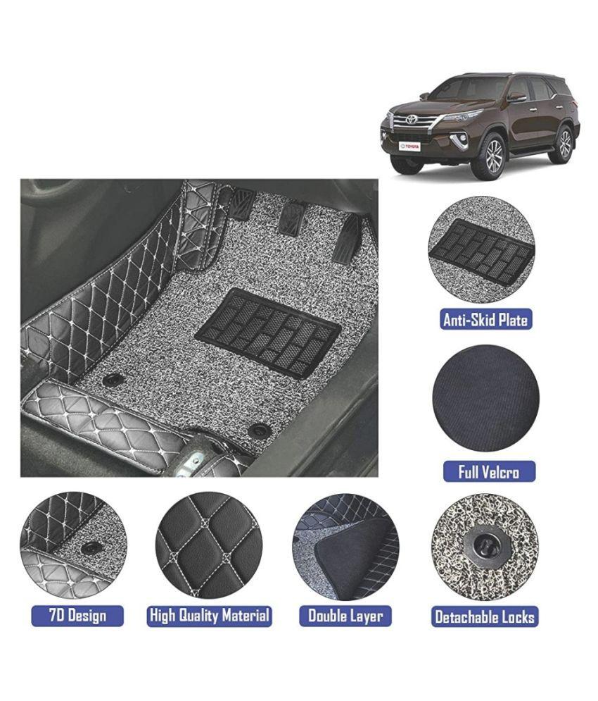 7D Car Floor Mats for Toyota Fortuner New