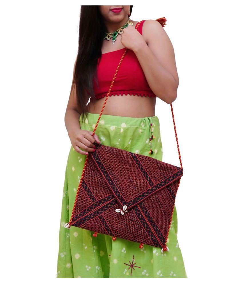 TribesIndia Bangalore Multi Cotton Sling Bag