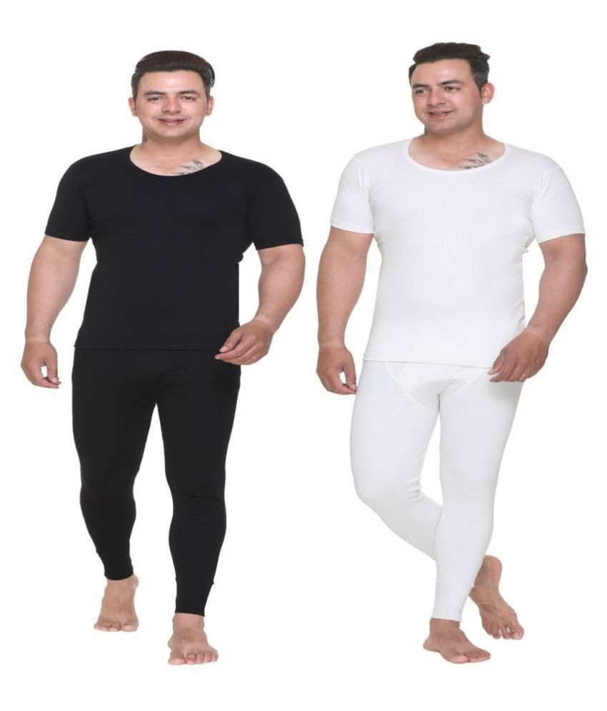 WARMZONE Off-White Thermal Sets Pack of 2