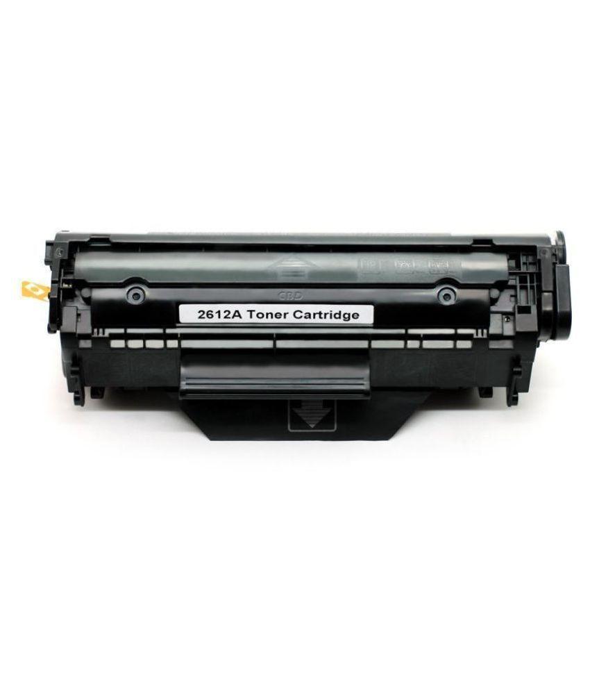 HVP 12a Black Single Toner for HP Laserjet Printer 1020 1010 1012 1018 1022 3015 3050 3052 3055 1015 3030 M1005 M1319F