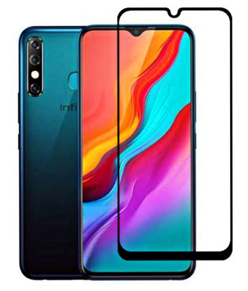 Infinix Hot 8 Tempered Glass by shadox