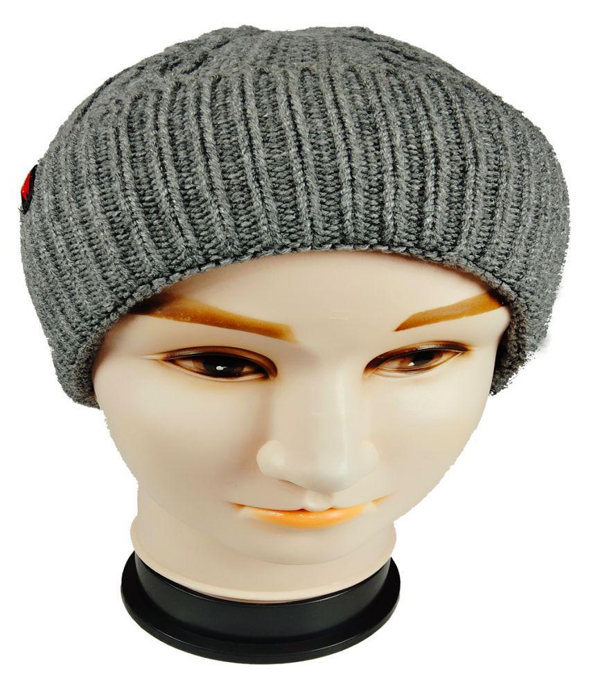 WARMZONE Gray Plain Acrylic Caps
