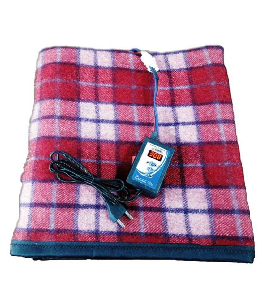 heat shield Single Wool Blend Checks Blanket
