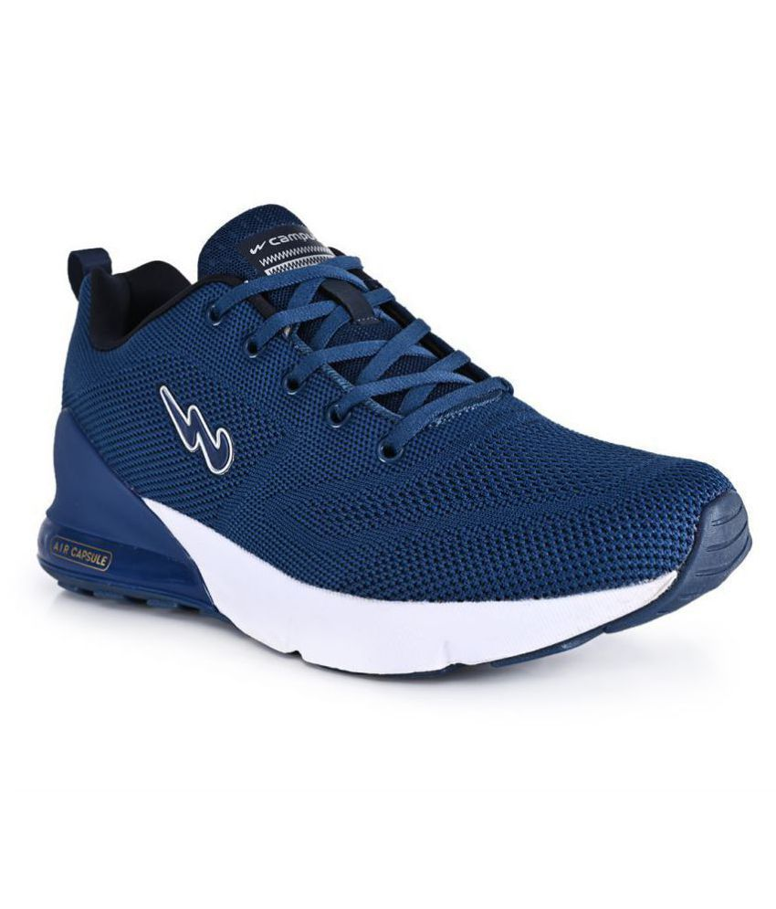 Campus NORTH PLUS Blue Running Shoes
