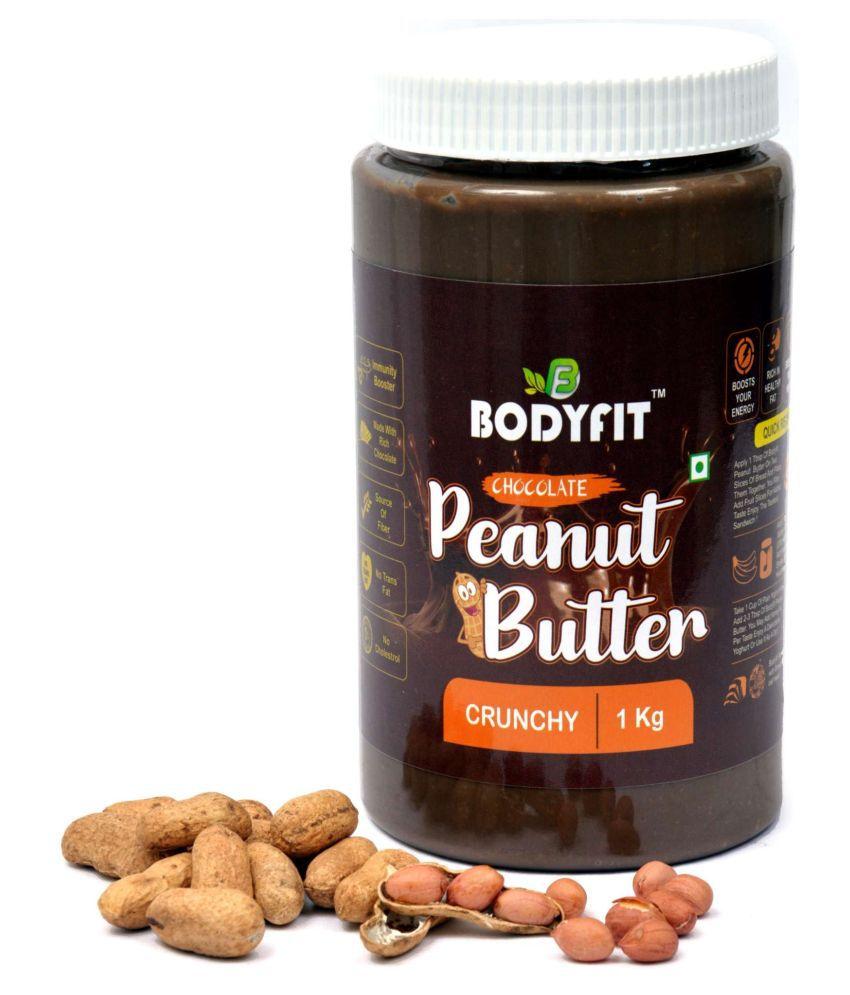 BODYFIT PEANUT BUTTER DARK CHOCOLATECRUNCH Butter Chunky 1 kg