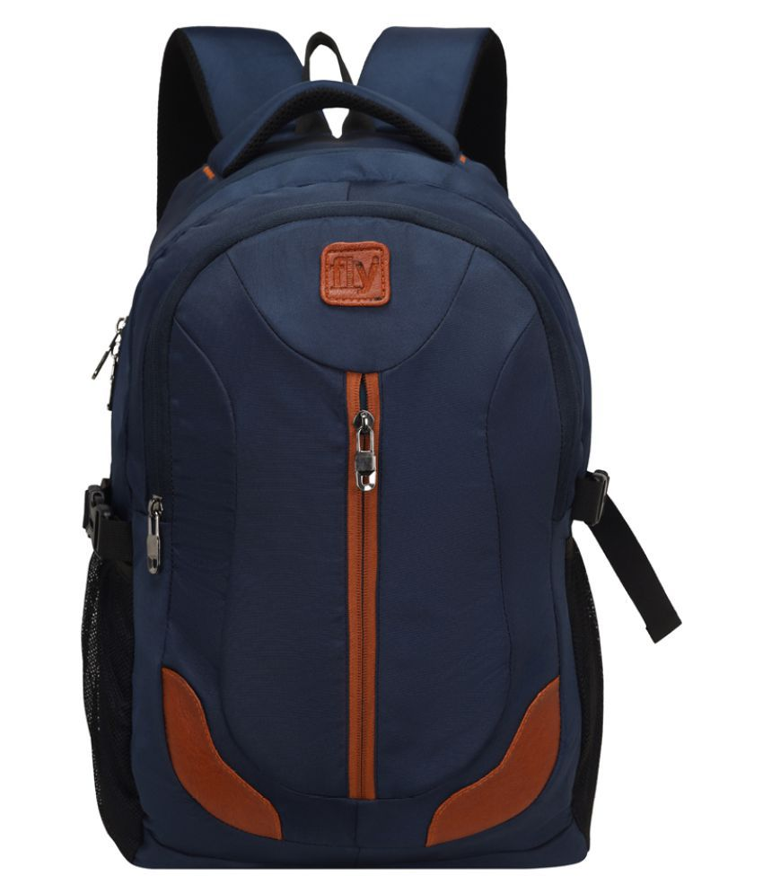Fly Fashion Navy Laptop Bags
