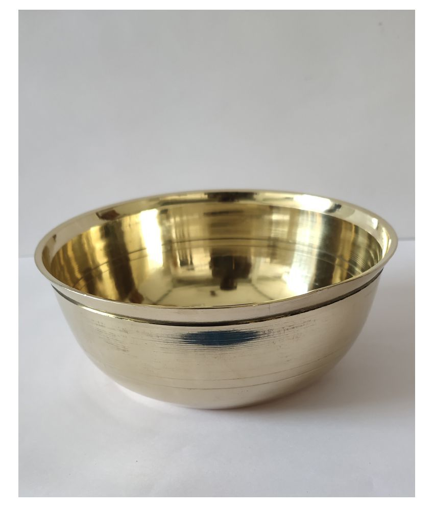 ME 1 Pcs Brass Soup Bowl 350 mL