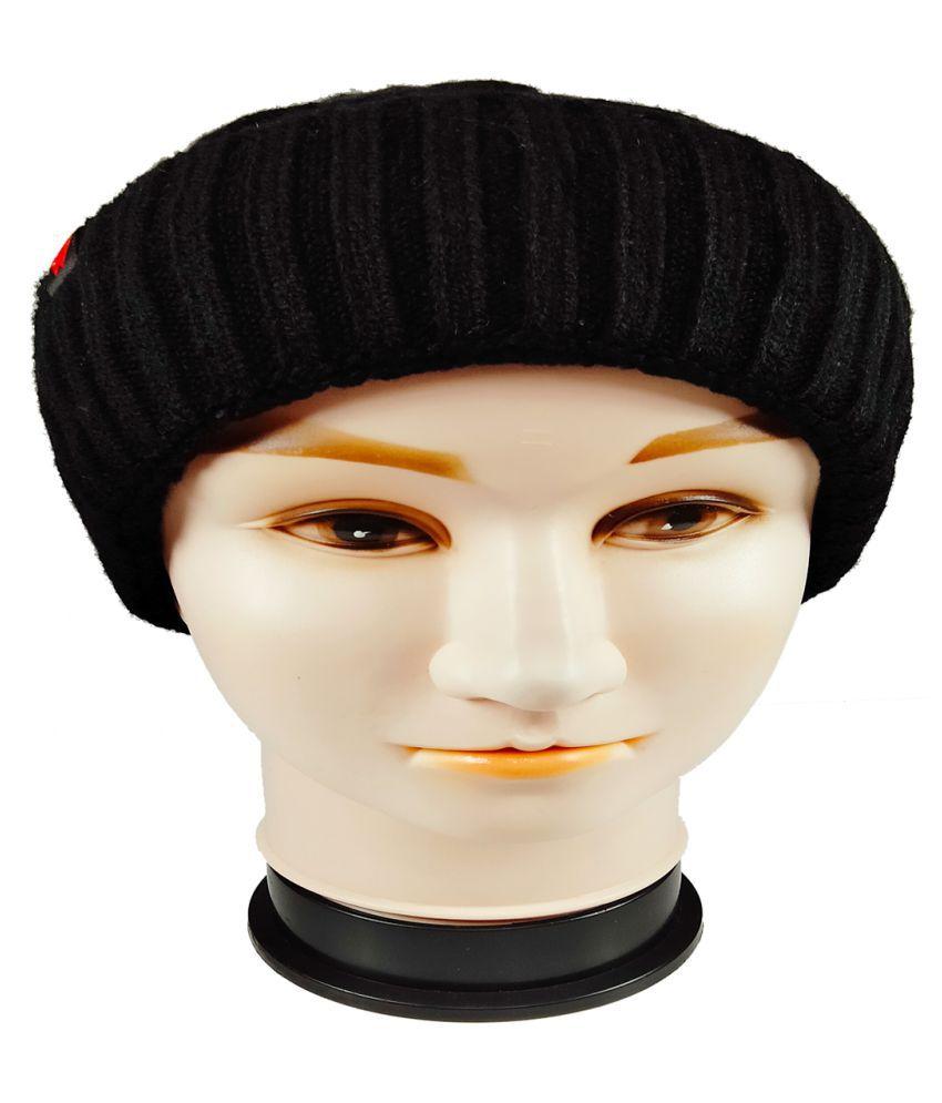 WARMZONE Black Plain Acrylic Caps