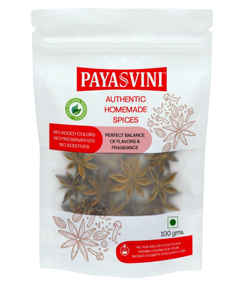 PAYASVINI Star Anise (Chakra Phool) 100 gm