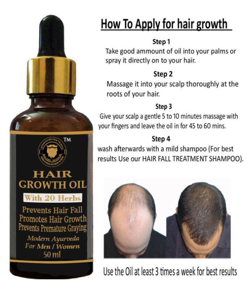 DAARIMOOCH Onion Hair Oil to Control Hair Fall & Hair Growth 50 mL Tube Glass Container