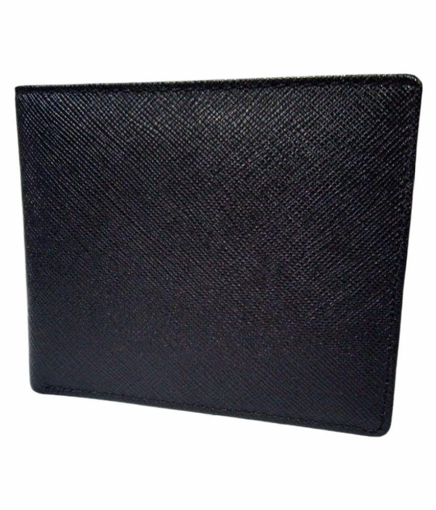 L #039;AIGLON Black Wallet