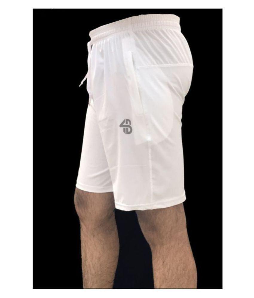 Forbro White Shorts