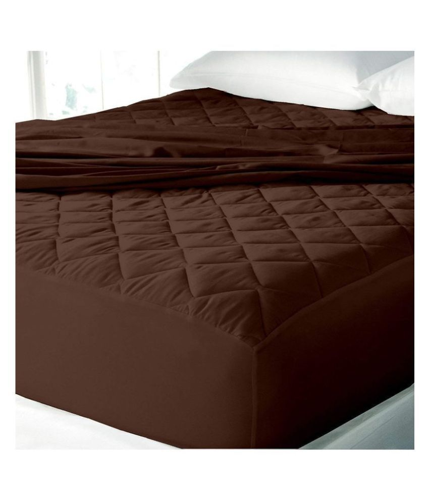 LoomStar na Brown Quilted Mattress Protector