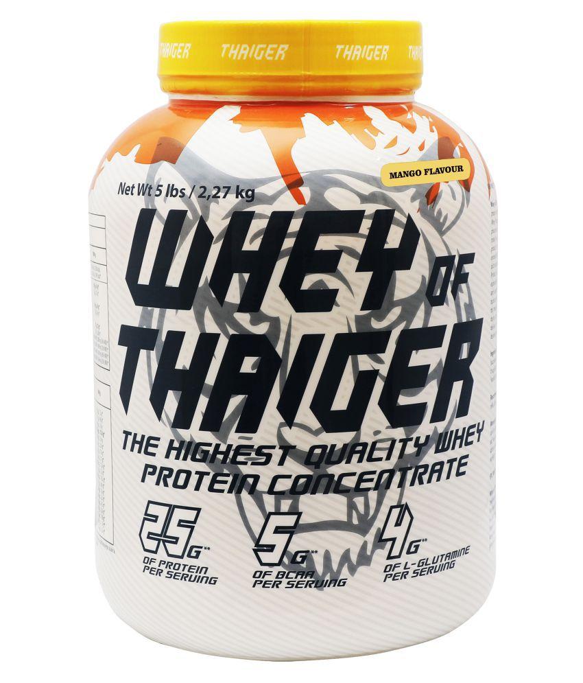 Thaiger Whey of thaiger 5 LBS (Mango) 2267 gm
