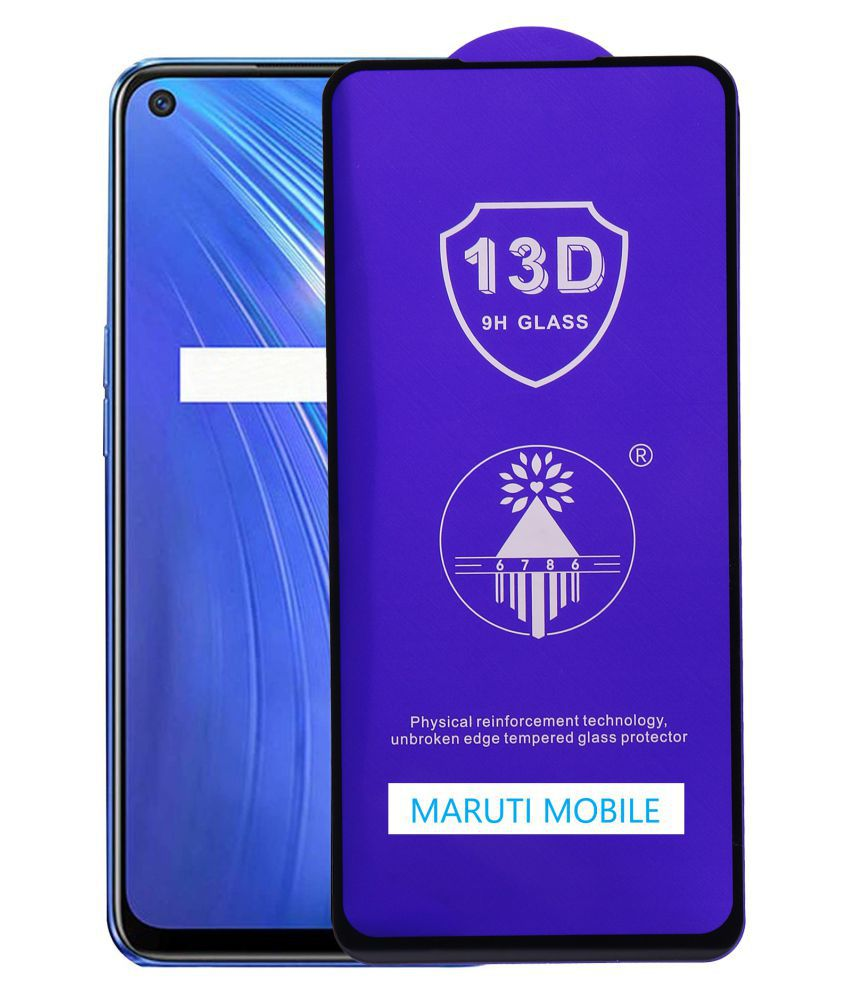Realme Narzo 20 Pro Tempered Glass by maruti mobile