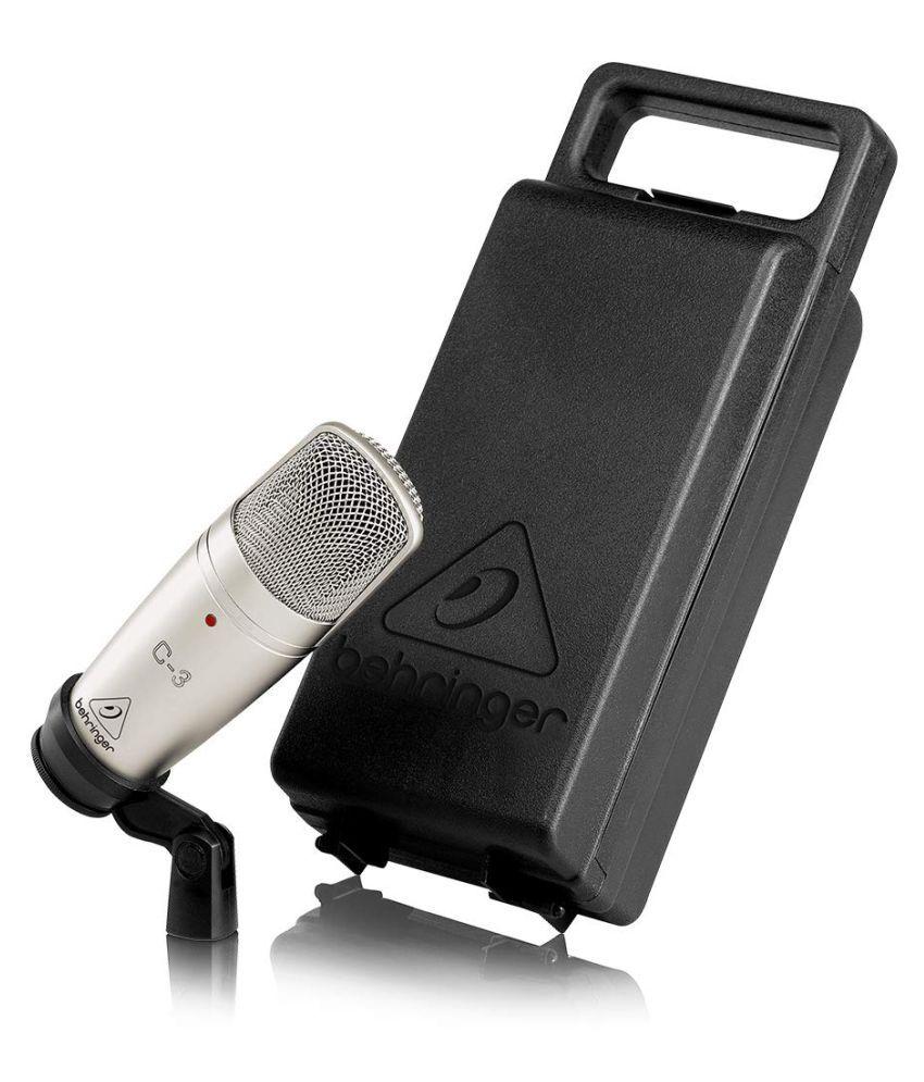 Behringer C 3 Studio Mic Condenser Microphone