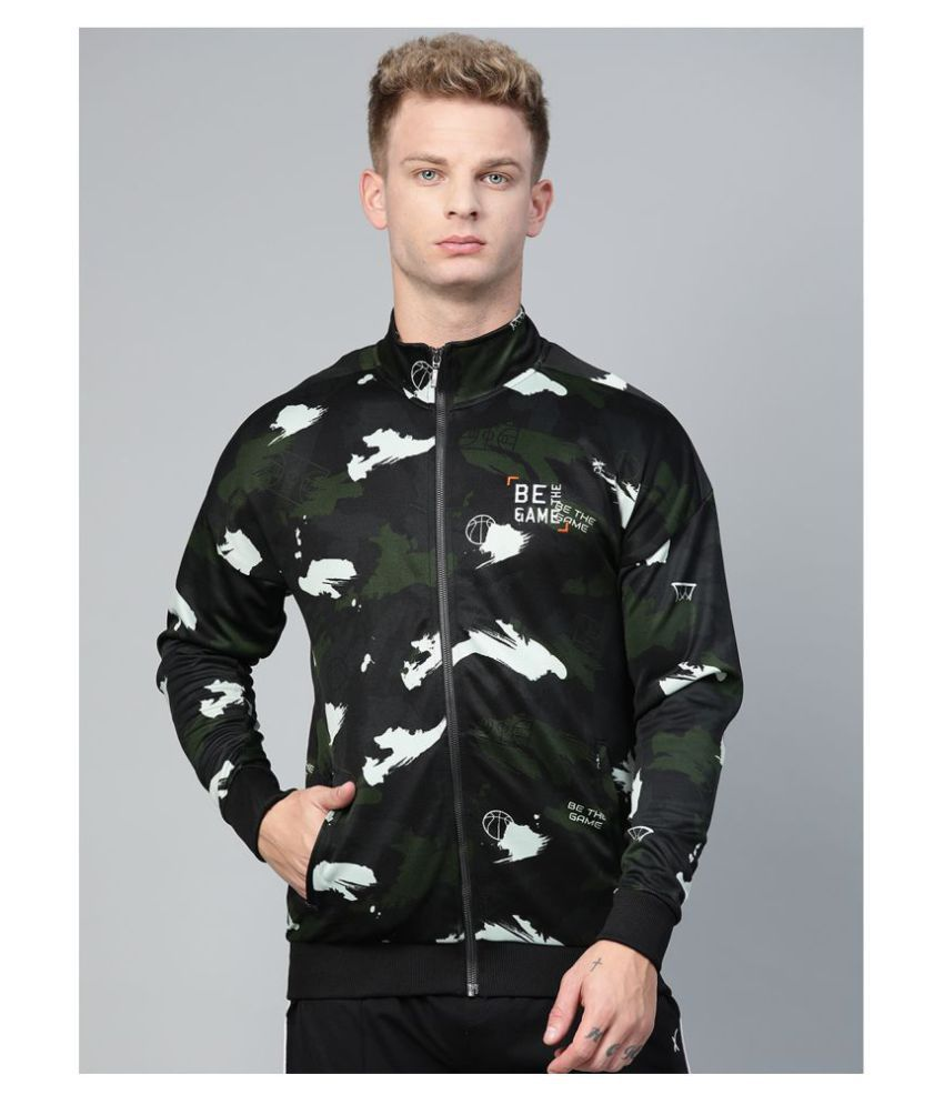 Alcis Olive Polyester Jacket Single Pack