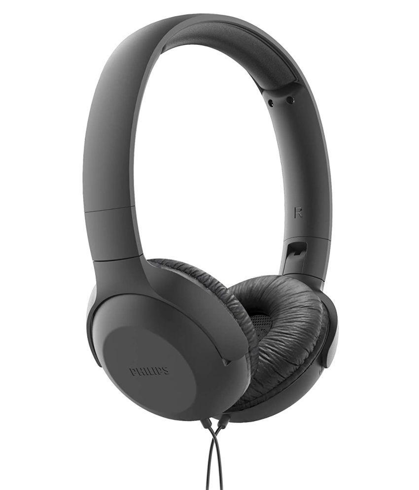 Philips TAUH201BK/00 In Ear Wired With Mic Headphones/Earphones